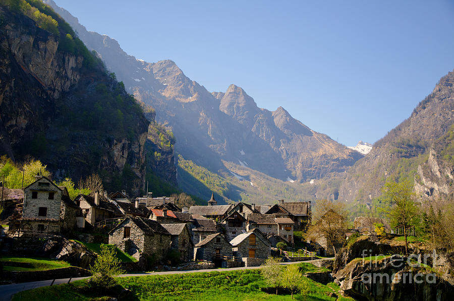 Alpine Village Photograph By Mats Silvan