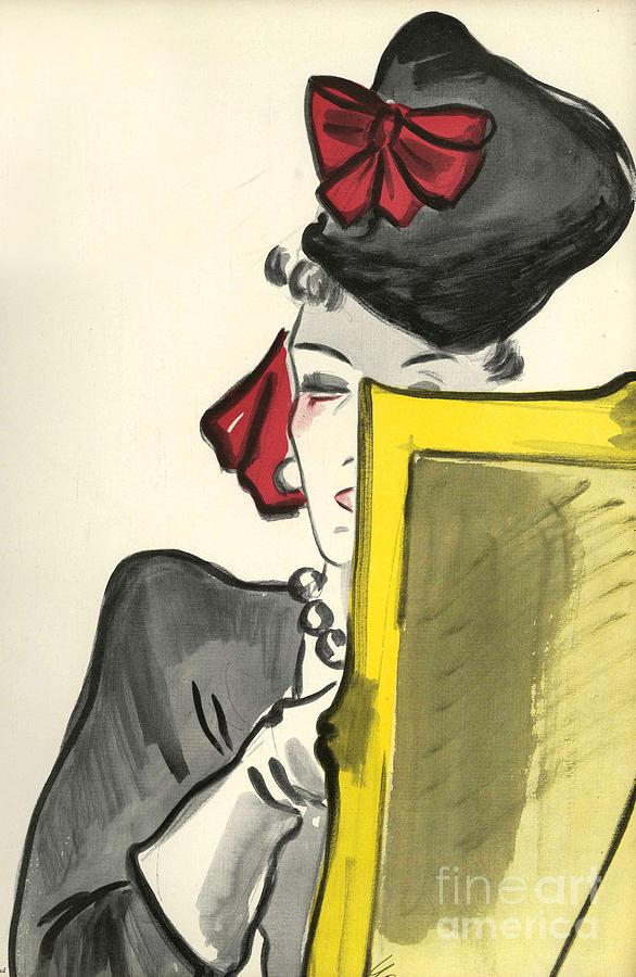 Women�s Fashion 1930s 1939 1930s Uk Drawing