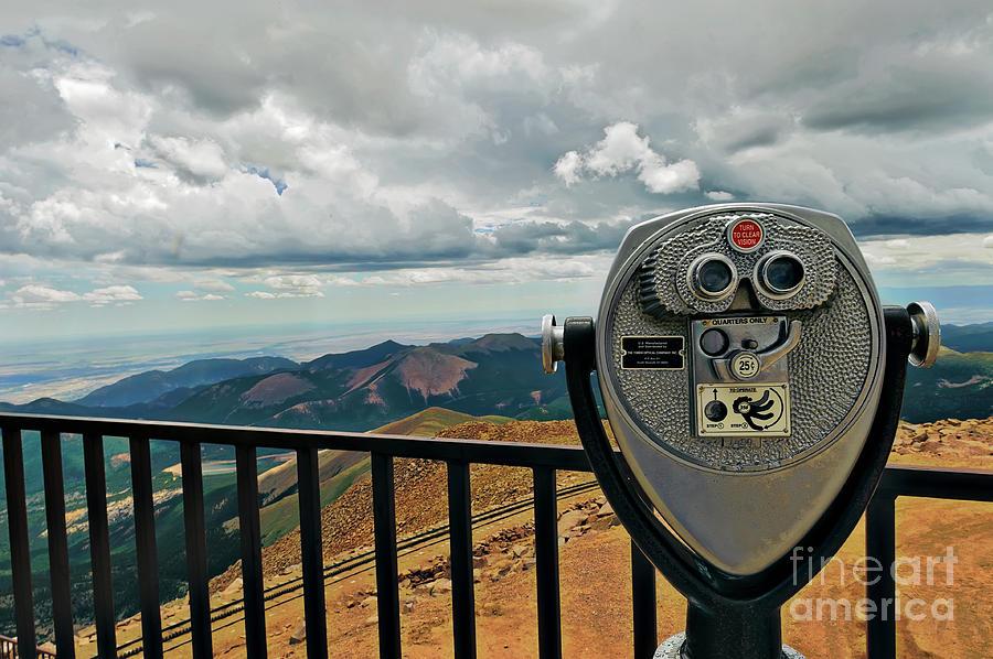 Binoculars Photograph - 25 Cent Views by Charles Dobbs