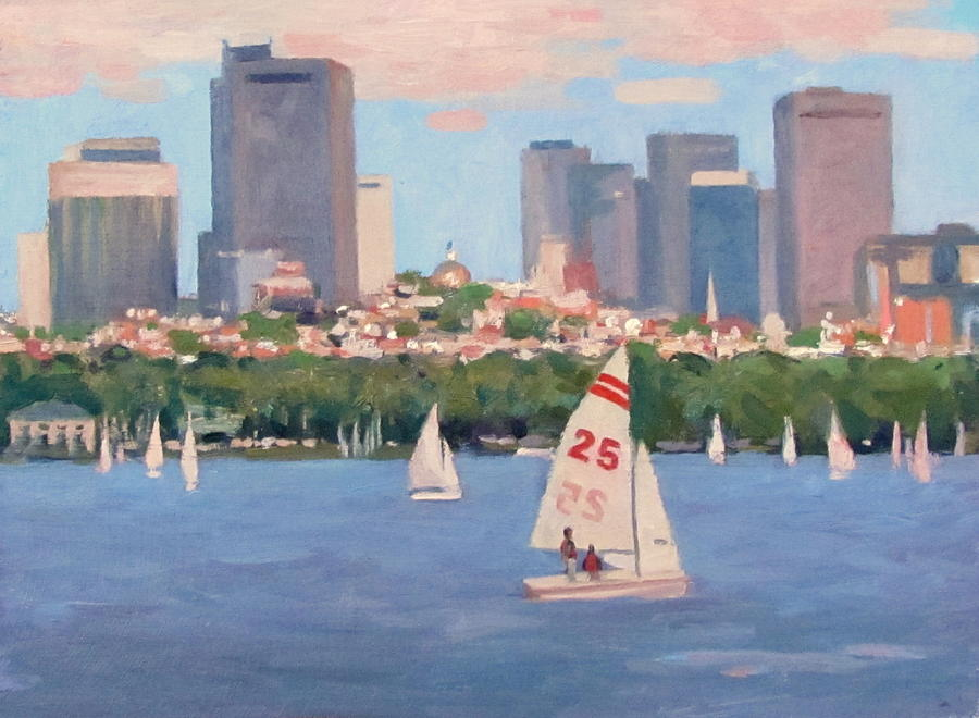 25 On The Charles Painting