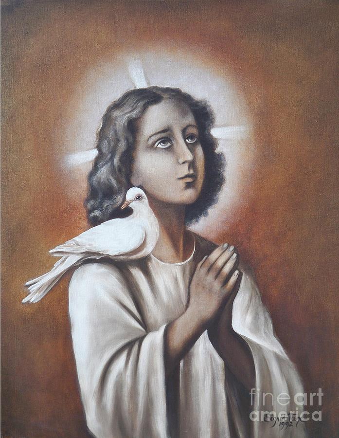 267  The Boy Jesus - A Jew Painting