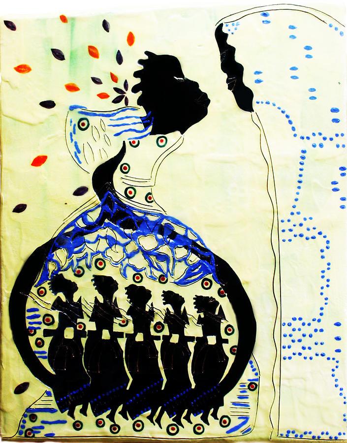 Jesus Ceramic Art - Wise Virgins by Gloria Ssali