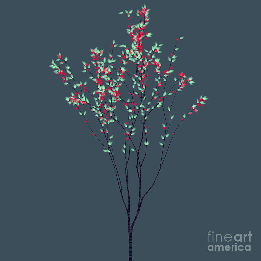 Trees Of Life Digital Art  - Trees Of Life Fine Art Print