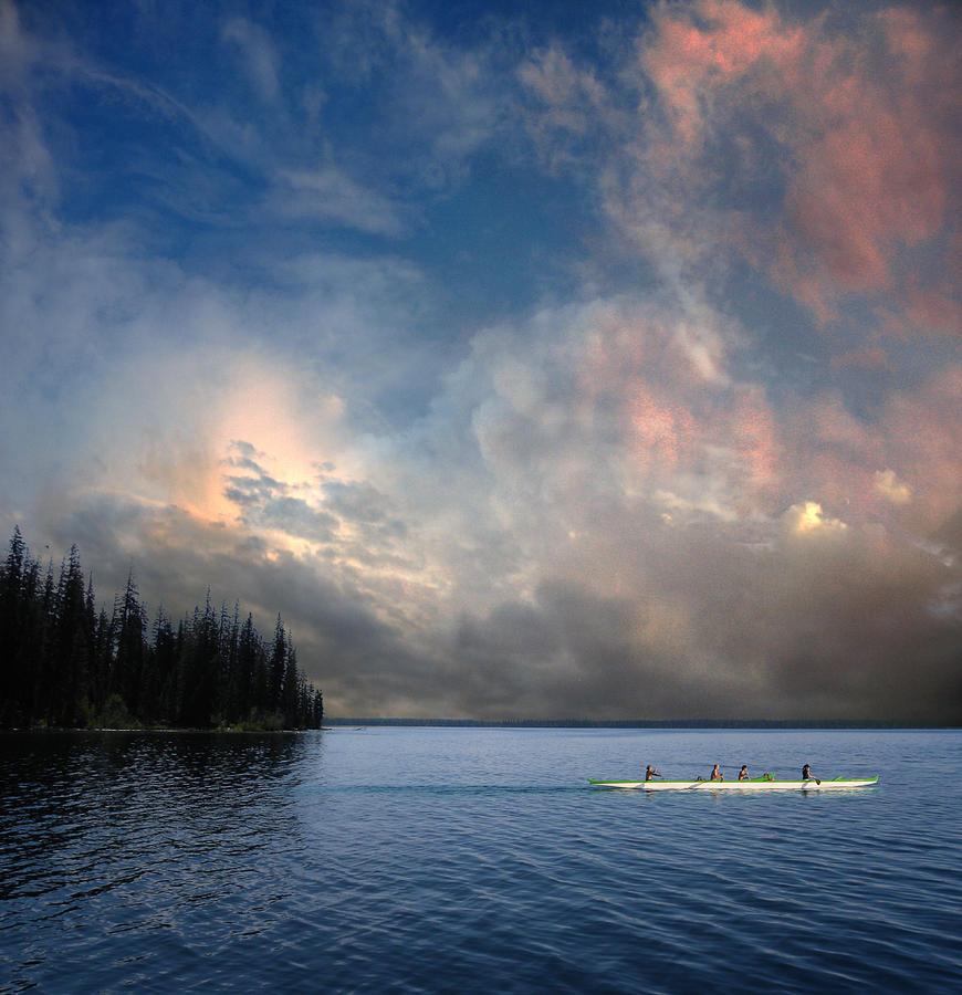 Canoe Photograph - 2975 by Peter Holme III