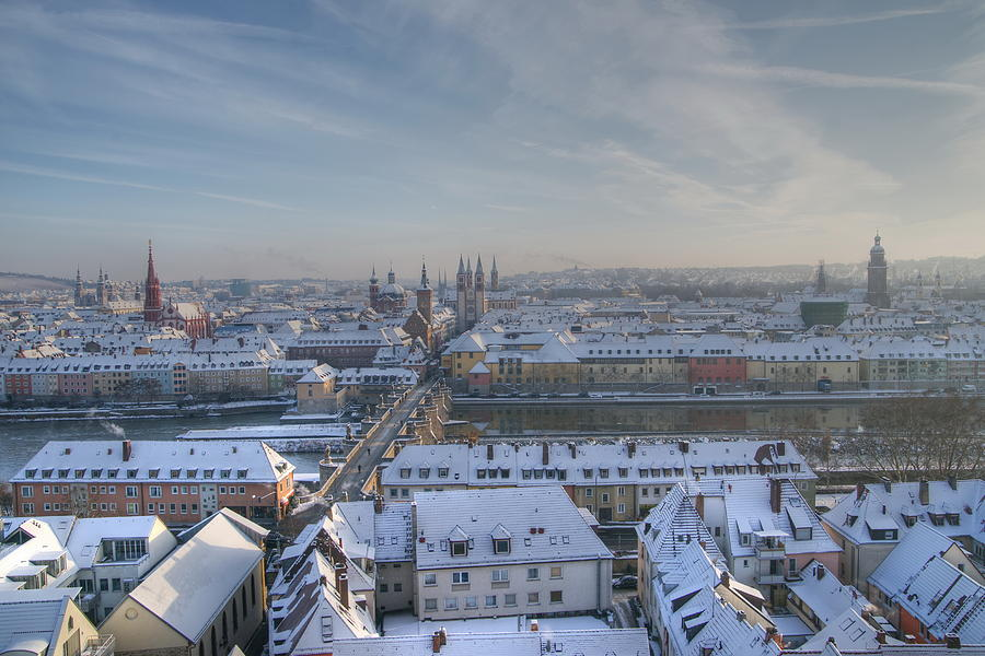 Wuerzburg Germany  City new picture : 001 Wuerzburg Germany is a photograph by Mark Brooks which was ...