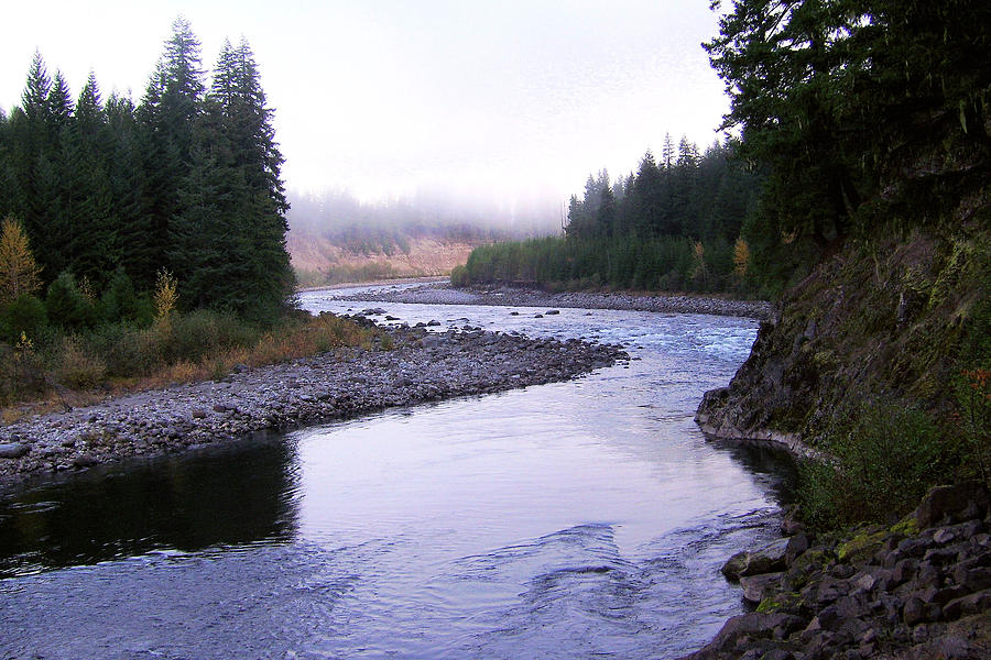 A Mountain Stream Photograph