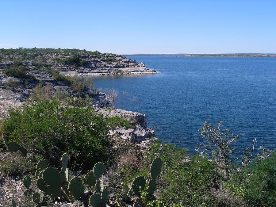 Amistad National Recreation Area Photograph By Nancy Mell