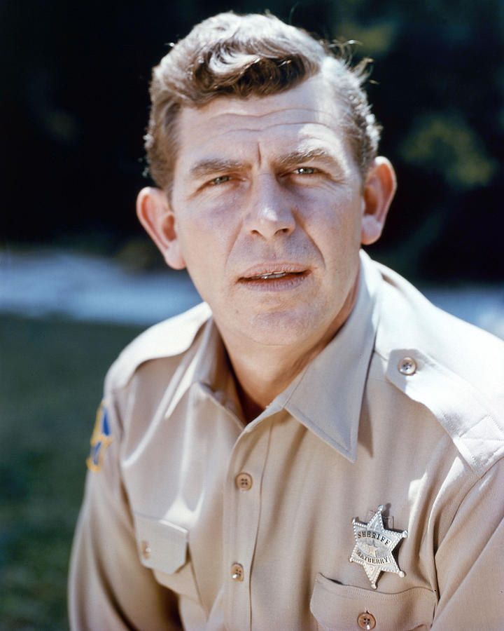 Andy Griffith In The Andy Griffith Show  Photograph