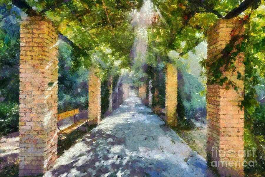 Archway Painting