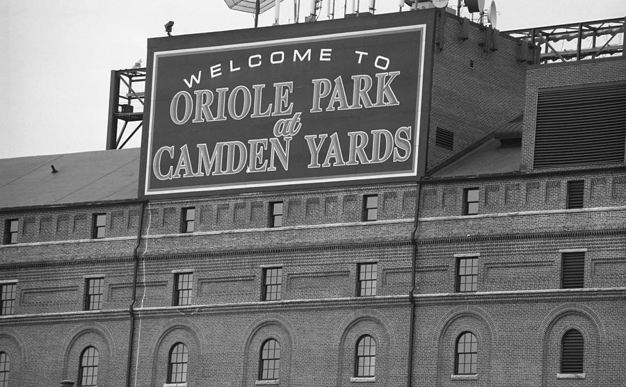 Baltimore Orioles Park At Camden Yards Photograph