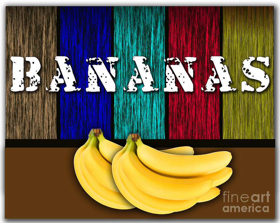 Bananas Photographs Mixed Media - Bananas by Marvin Blaine