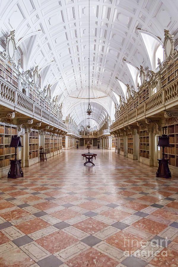 Baroque Library  Photograph