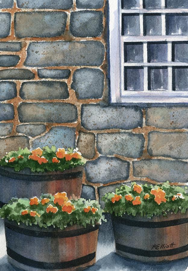 3 Barrels Painting