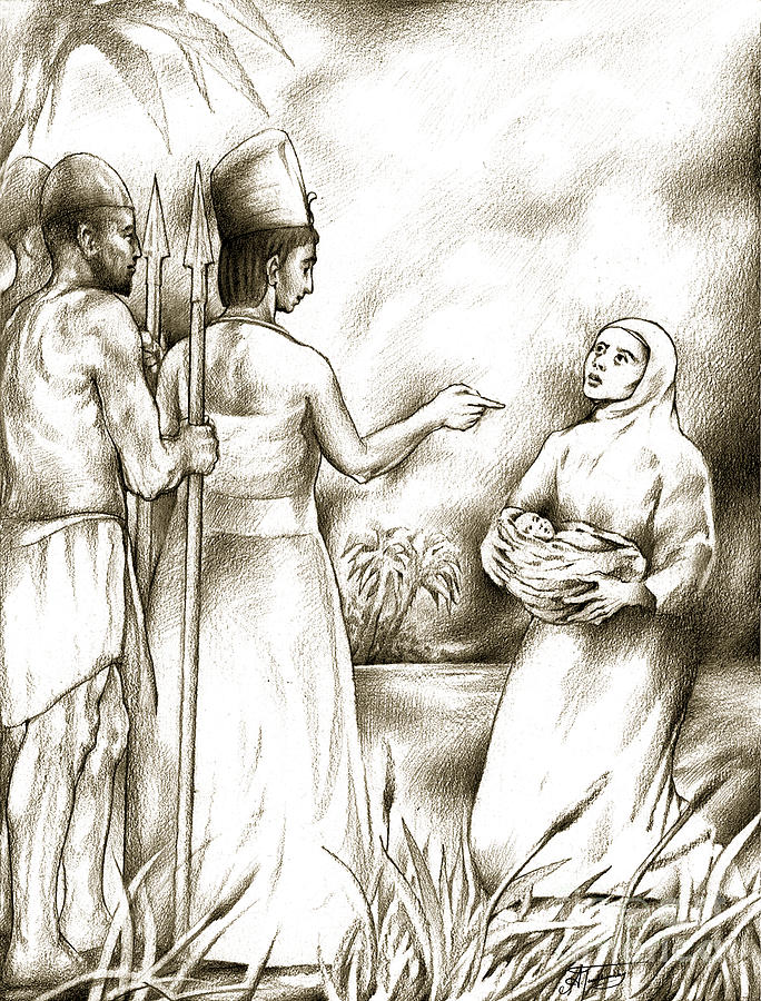 Biblical Illustration Drawing