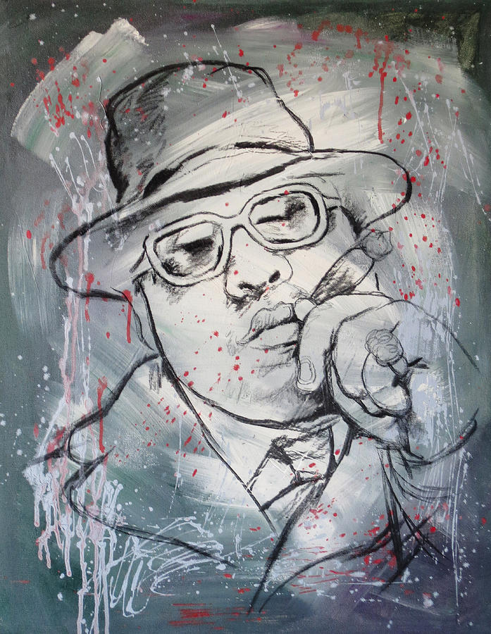 Biggie Smalls Art Painting Poster Painting  - Biggie Smalls Art Painting Poster Fine Art Print