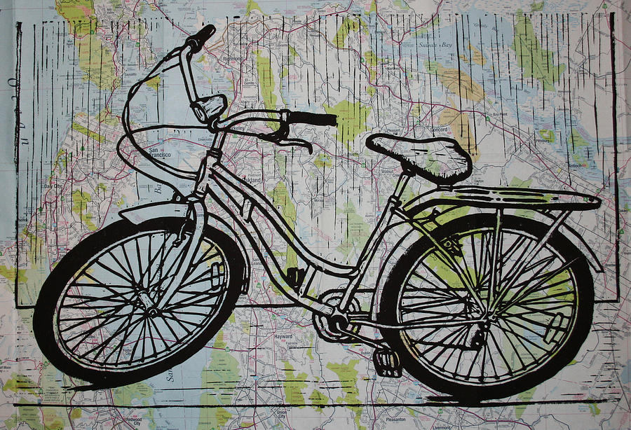 Bike 5 Drawing