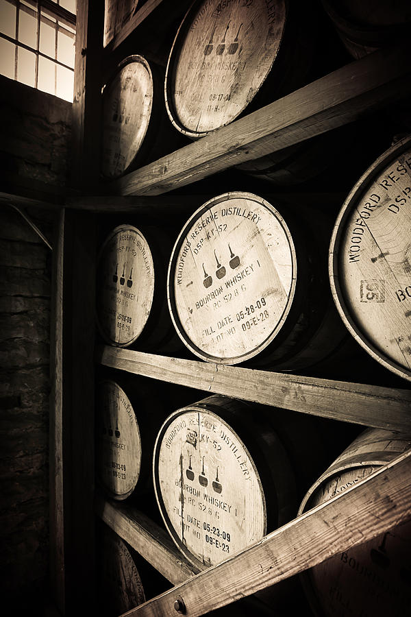 Bourbon Barrels Photograph