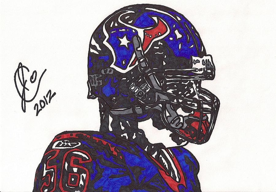Brian Cushing Drawing