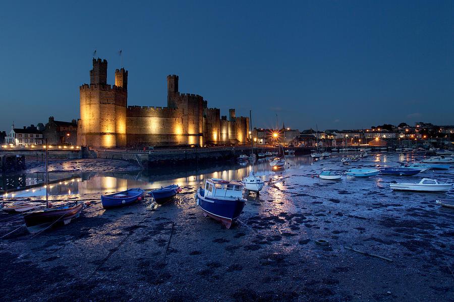 Castle Photograph - Caernarfon Castle by Ollie Taylor