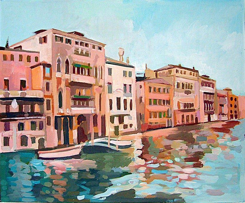Canal Grande Painting