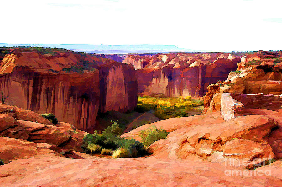 Canyon De Chelly Digital Art