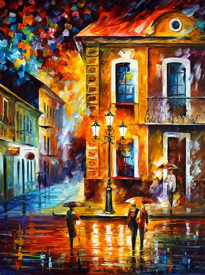 Charming Night Painting by Leonid Afremov - photo#10