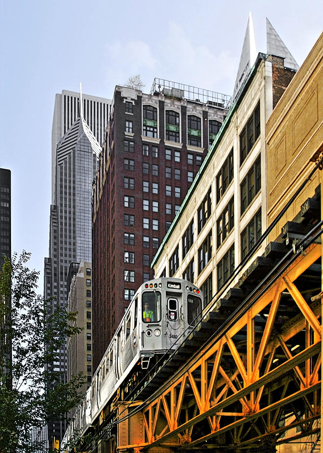 Chicago Loop l Photograph  - Chicago Loop l Fine Art Print