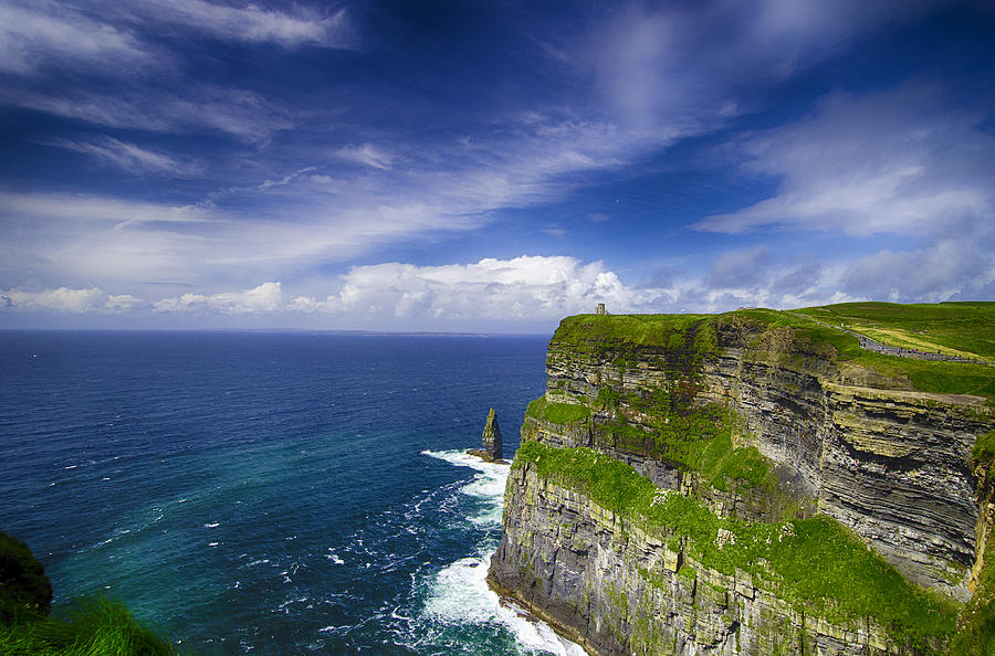 Cliffs Of Moher  Ireland Photograph  - Cliffs Of Moher  Ireland Fine Art Print