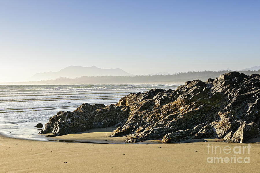 Coast Of Pacific Ocean On Vancouver Island Photograph  - Coast Of Pacific Ocean On Vancouver Island Fine Art Print