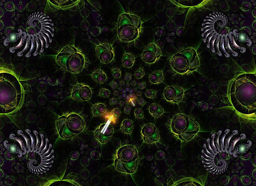 Cosmic Embryos Digital Art