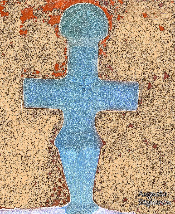 Cyprus Idol Of Pomos Painting