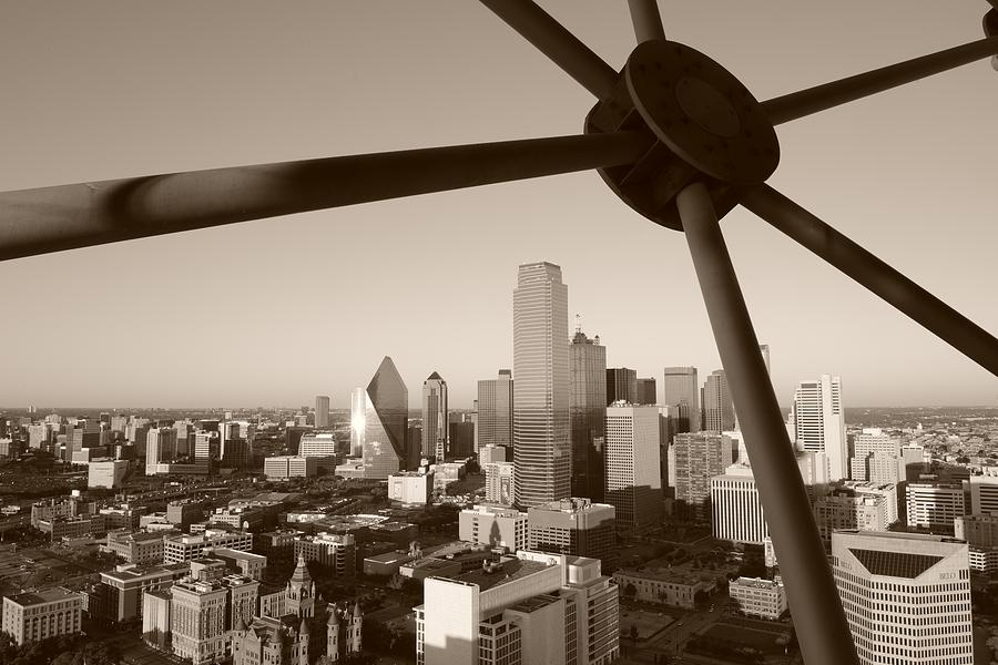 Dallas skyline by christian heeb for Christian heeb