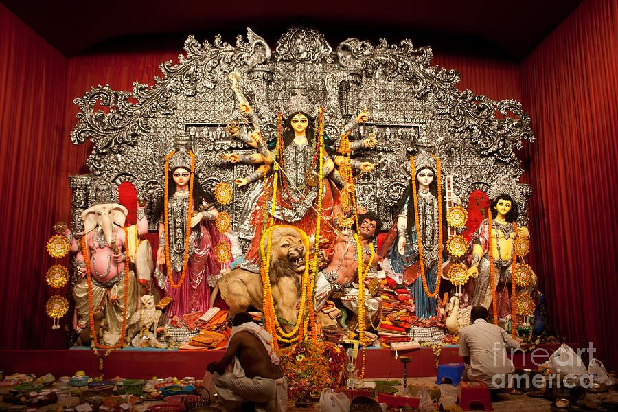 Durga Idol Photograph
