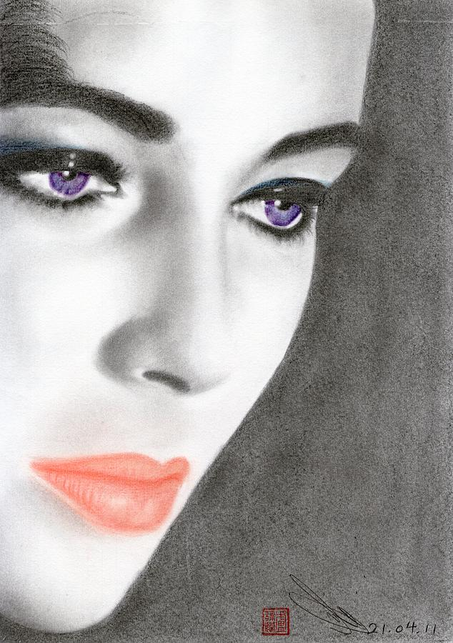 Elizabeth Taylor Drawing