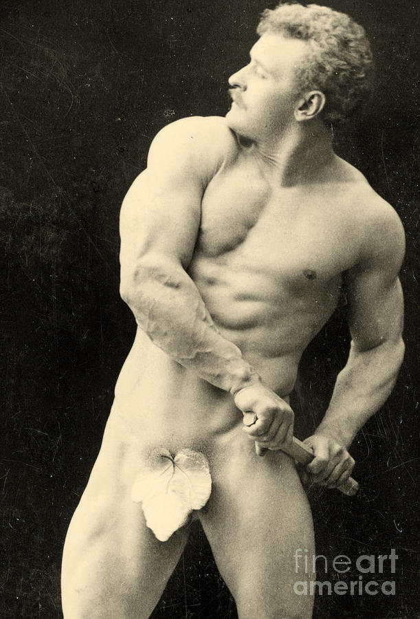 naked clean muscle men