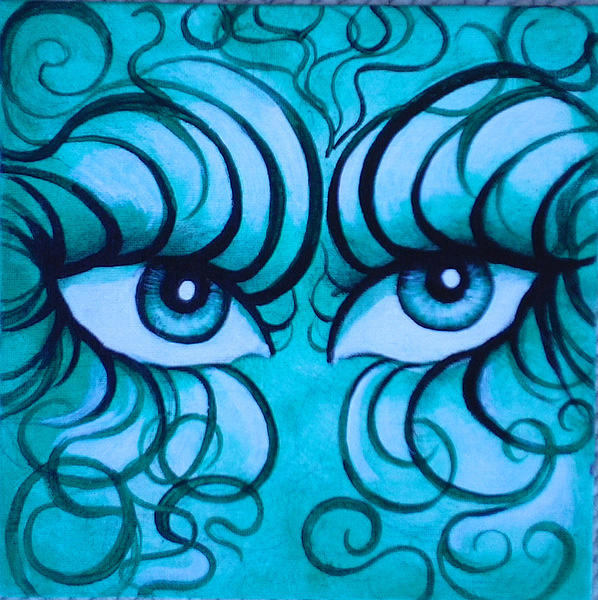 Eyes Of Color Painting