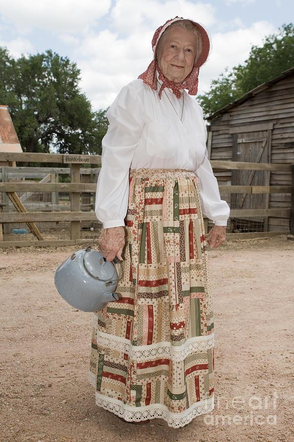 Farm Woman  Photograph