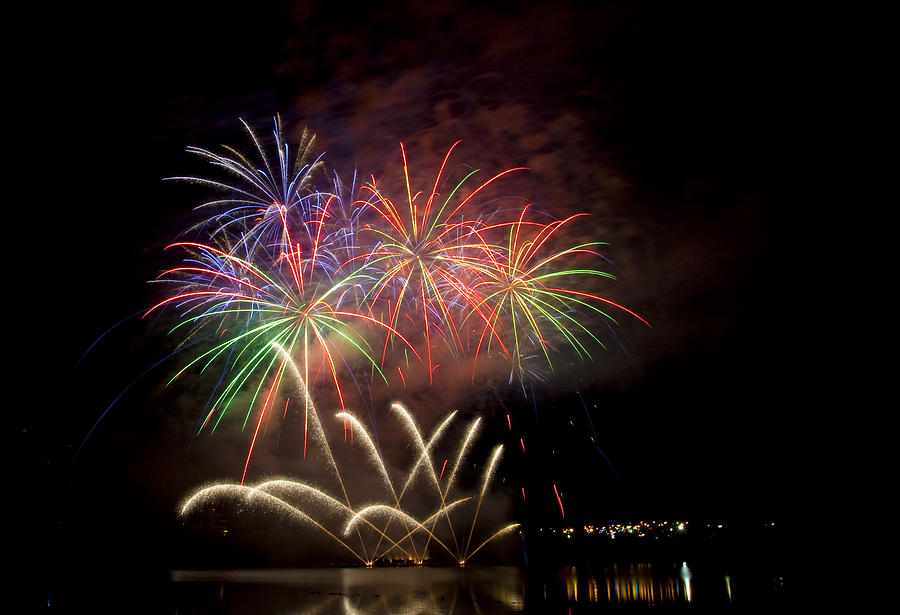 Fireworks Display Photograph