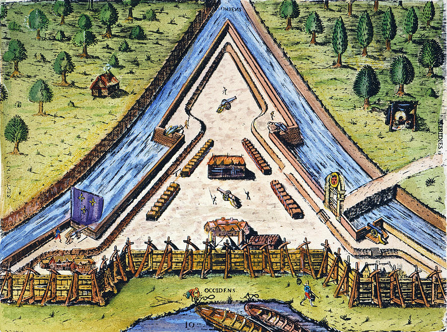 Fort Caroline, 1564 Photograph