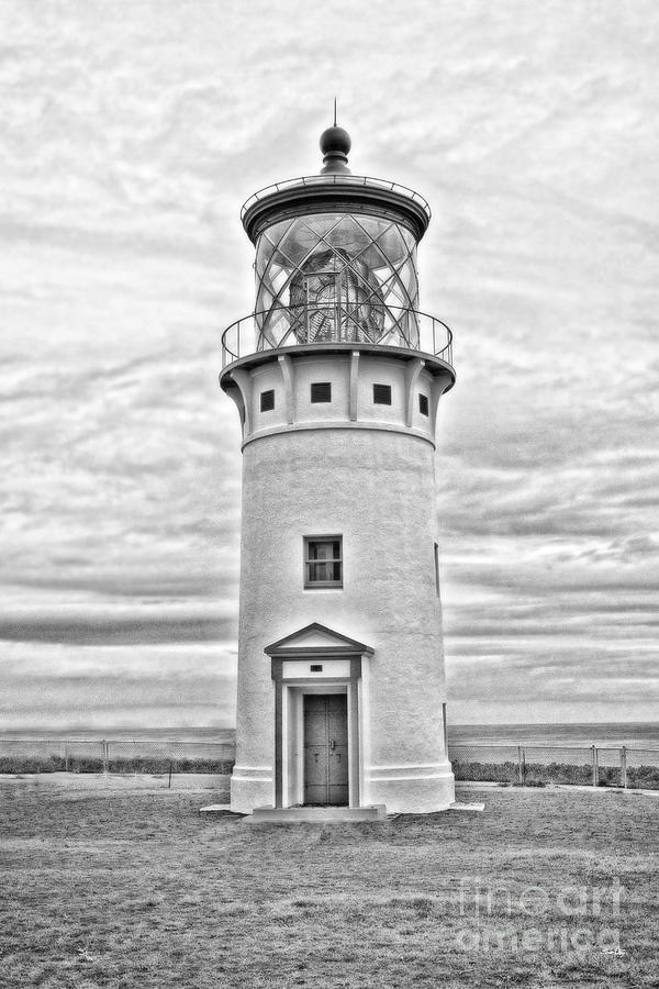 Kilauea Lighthouse Photograph - Kilauea Lighthouse by Scott Pellegrin