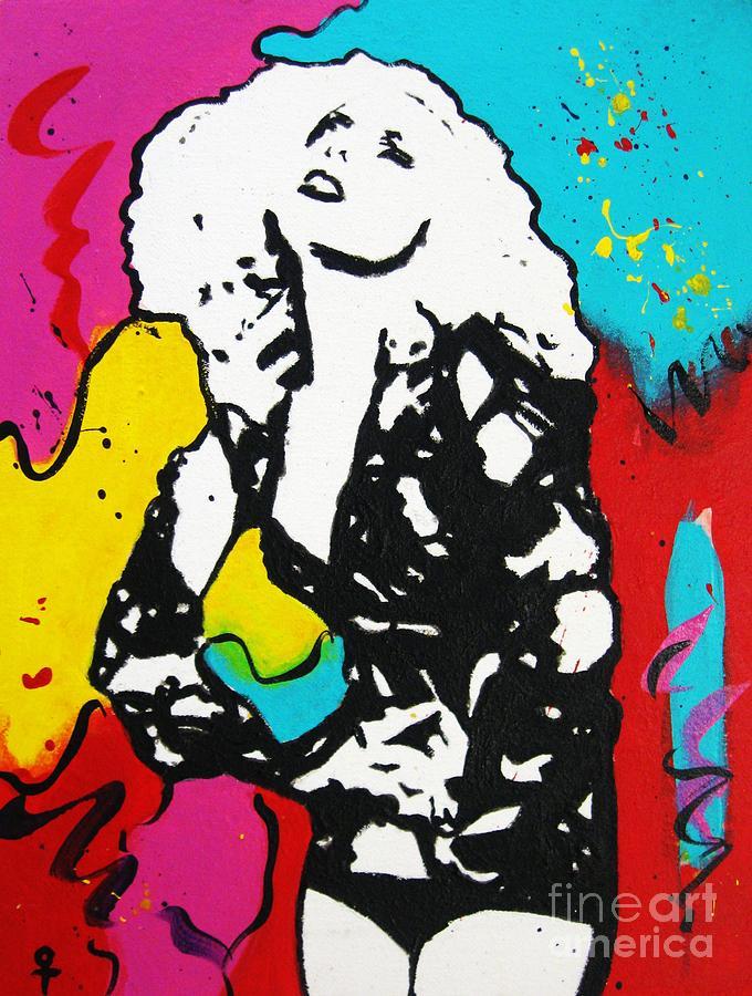 Lady Gaga Painting - Lady Gaga by Venus