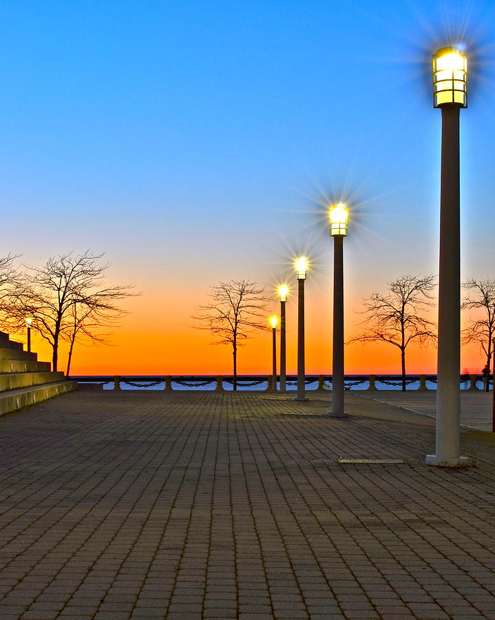 Lake Erie Sunset Photograph  - Lake Erie Sunset Fine Art Print