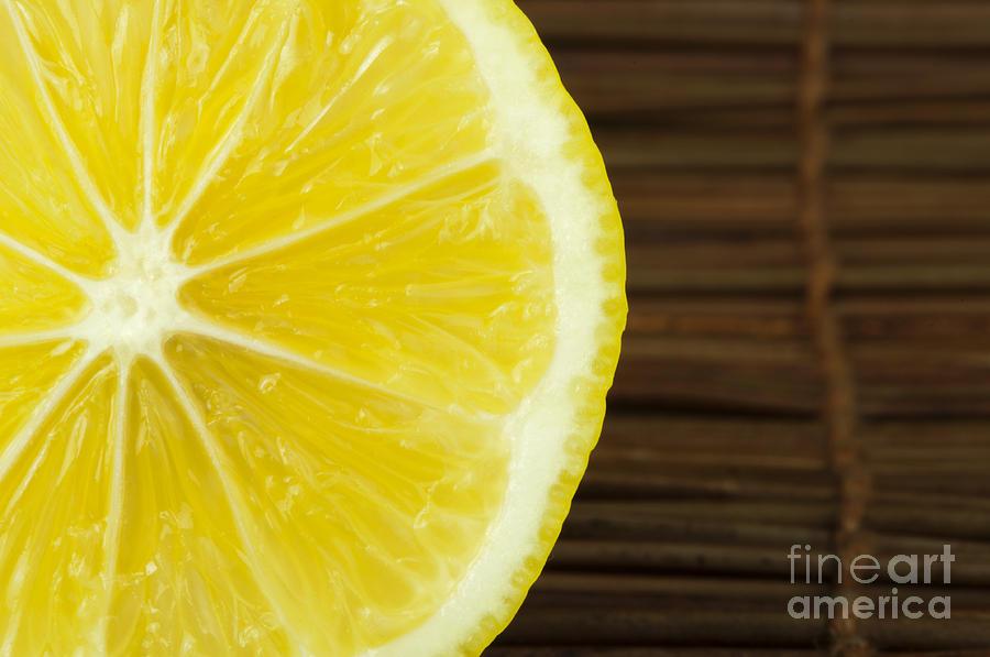 Lemon Close Up Photograph
