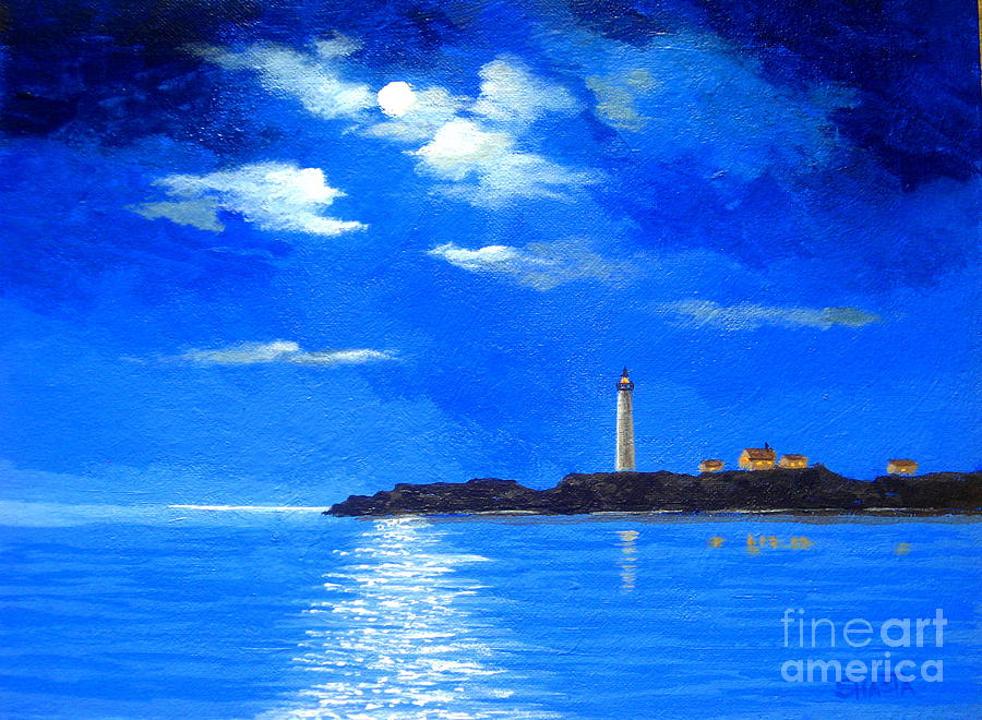 Light  Keeper  Painting  - Light  Keeper  Fine Art Print