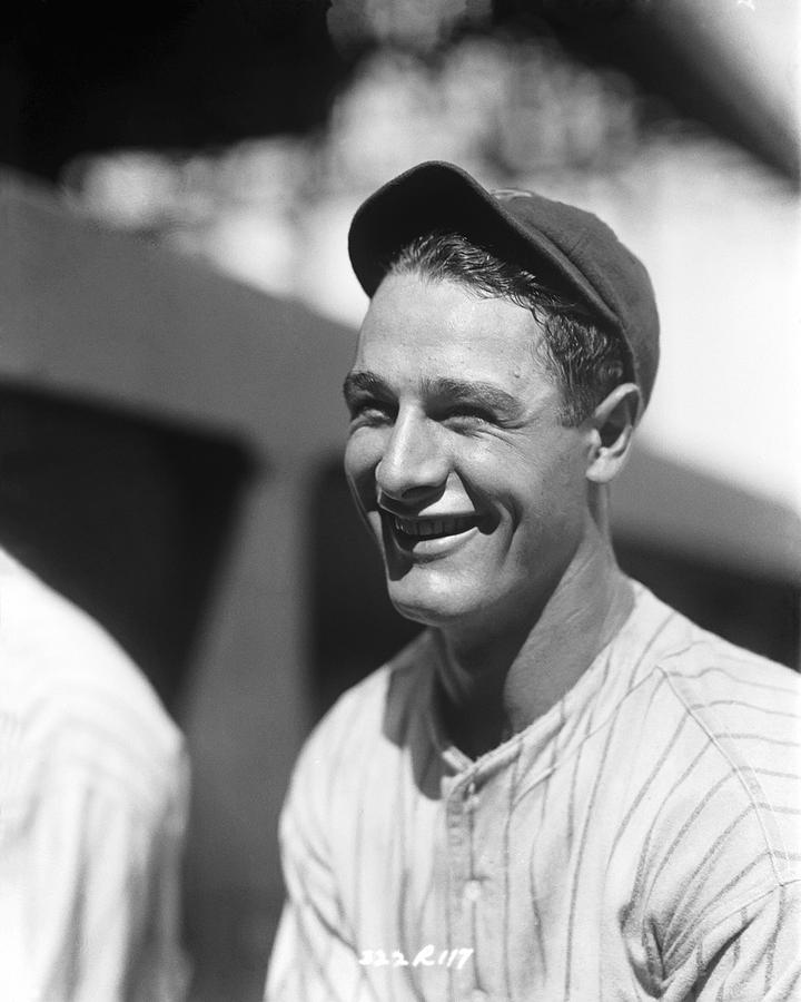 Conlon Photograph - Lou Gehrig New York  by Retro Images Archive