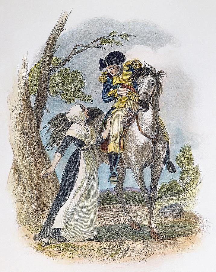 1777 Photograph - Lydia Darrah, 1777 by Granger