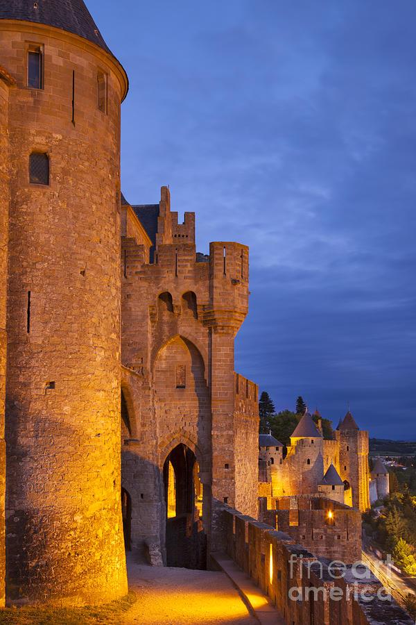 Medieval Carcassonne Photograph