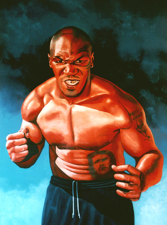 Mike Tyson Painting