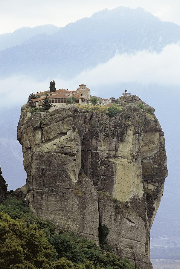 Monastery Of The Holy Trinity Hagia Photograph