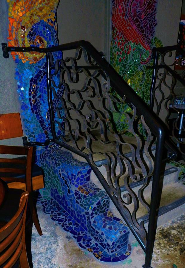 Mosaic Doorway Ceramic Art